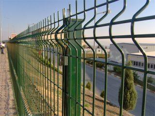 Adana PVC Kaplı Panel Çit
