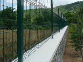 PVC Kaplı Panel Çit Fiyatları