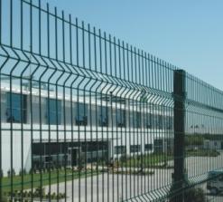 PVC Kaplı Panel Çit Adana